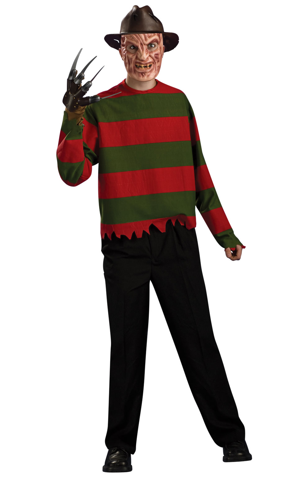 rubies freddy krueger adults / mens fancy dress halloween costume